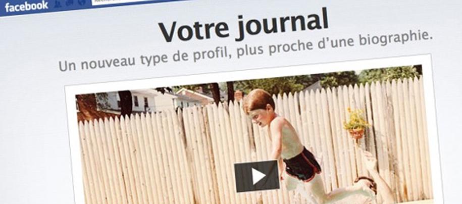 Timeline Facebook: Les pages Fans passent au journal de bord