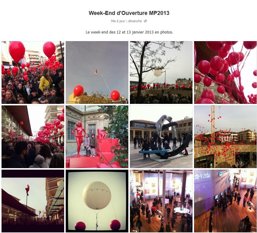 Week-end d'ouverture MP2013