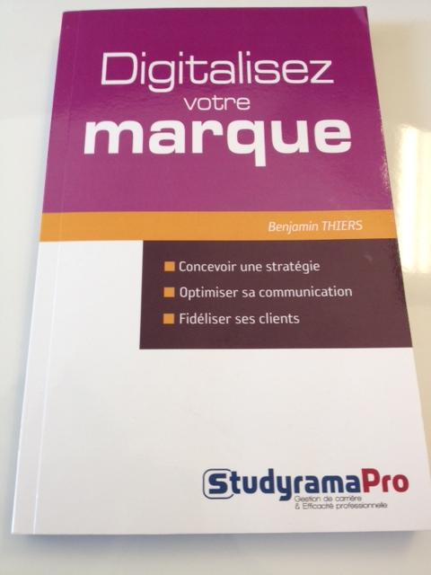 Livre digitalisez votre marque