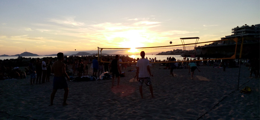 beach volley digimood