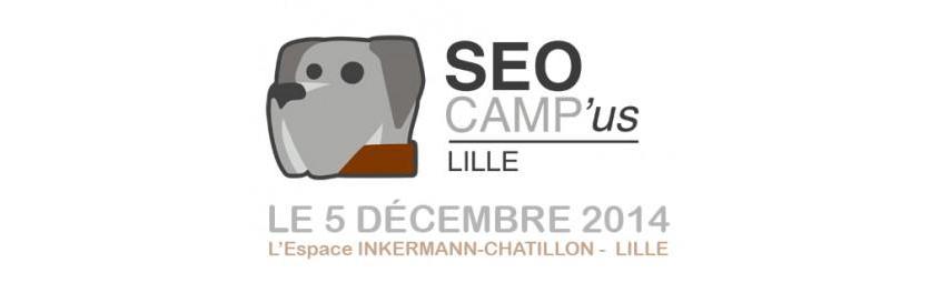SEO Camp de Lille en 2014