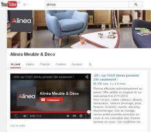Alinéa youtube