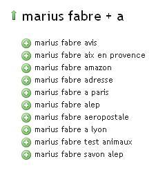 Ubersuggest Marius Fabre