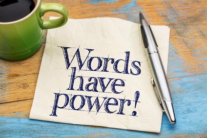 Les mots comptent !