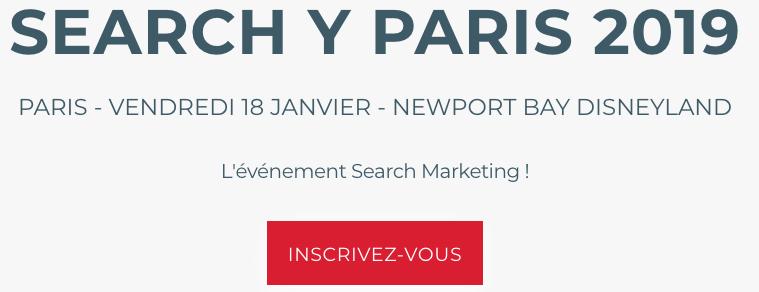 Search Y Paris Event SEO