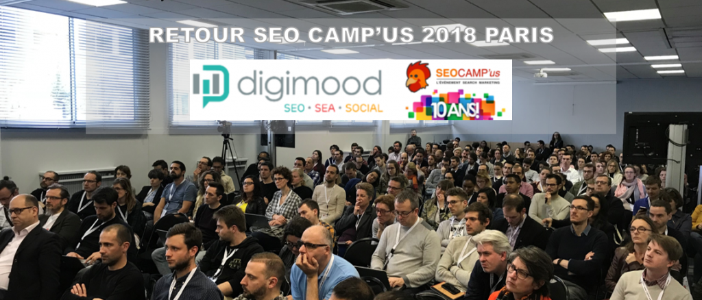 Retour sur le SEO Camp'us 2018 à Paris