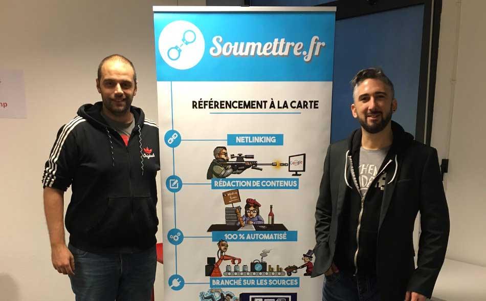 L'interview de Didier et Rodrigue, les fondateurs de Soumettre.fr