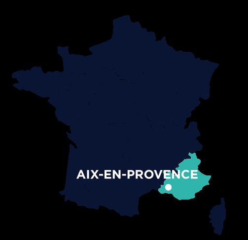 agence sea aix-en-provence-map