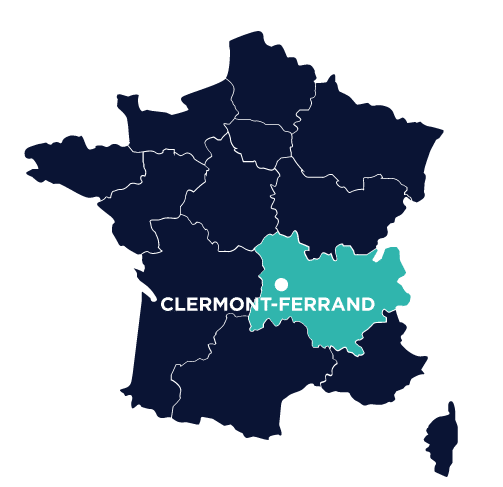 agence sea clermont-ferrand-map
