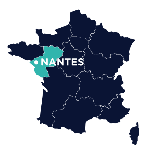 agence sea nantes-map