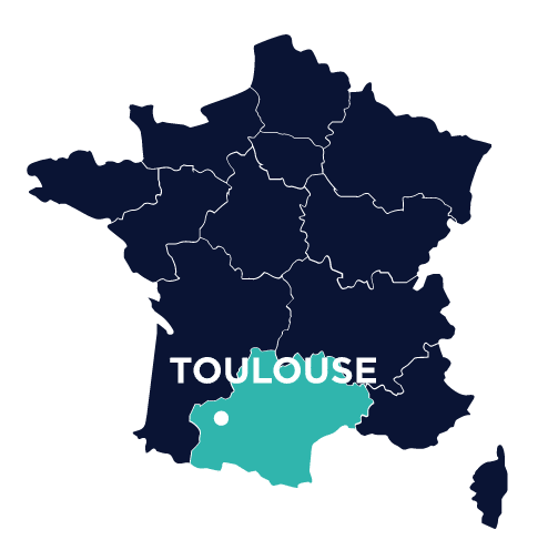 agence seo toulouse map