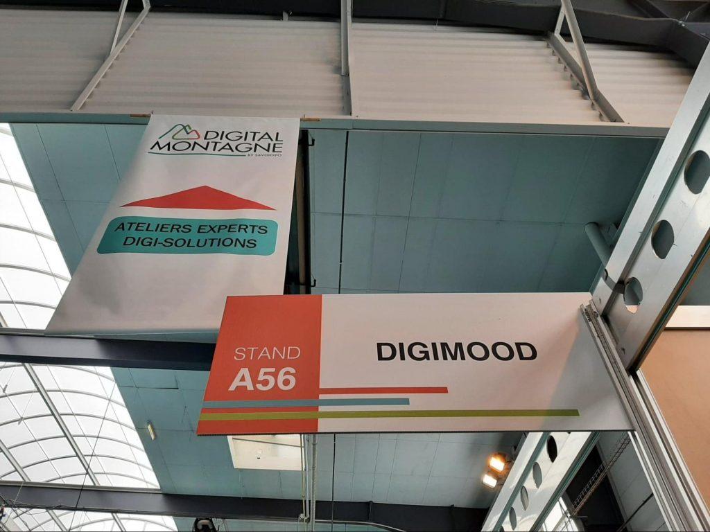 Digimood était présent au salon Digital Montagne !